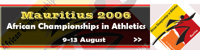 15th African Championships in Athletics - Mauritius 2006