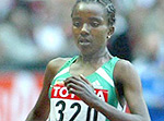 Tirunesh Dibaba of Ethiopia - Source: The BBC